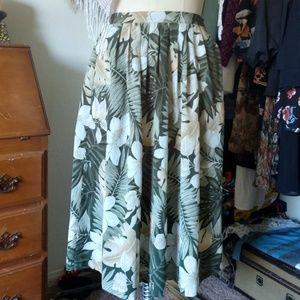 Alfred Dunner Jungle Skirt Petite size 6